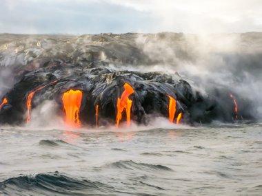 Kilauea Volkanı Hawaii