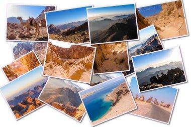 Sinai Peninsula collage