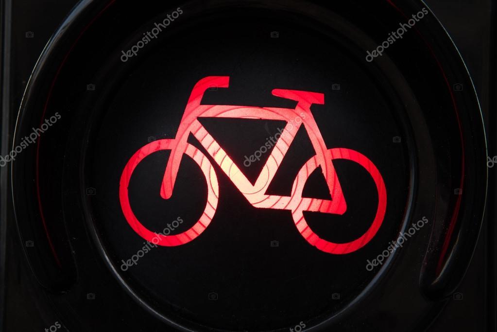 Licht In Fietswiel : Rood licht voor fiets u stockfoto anahtiris