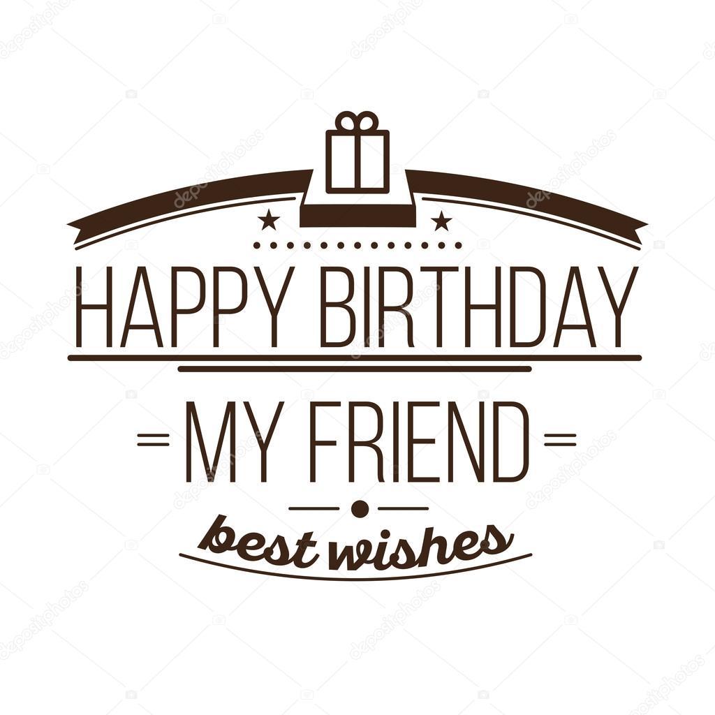 Festive Happy Birthday — Stock Vector © Softulka #117335066