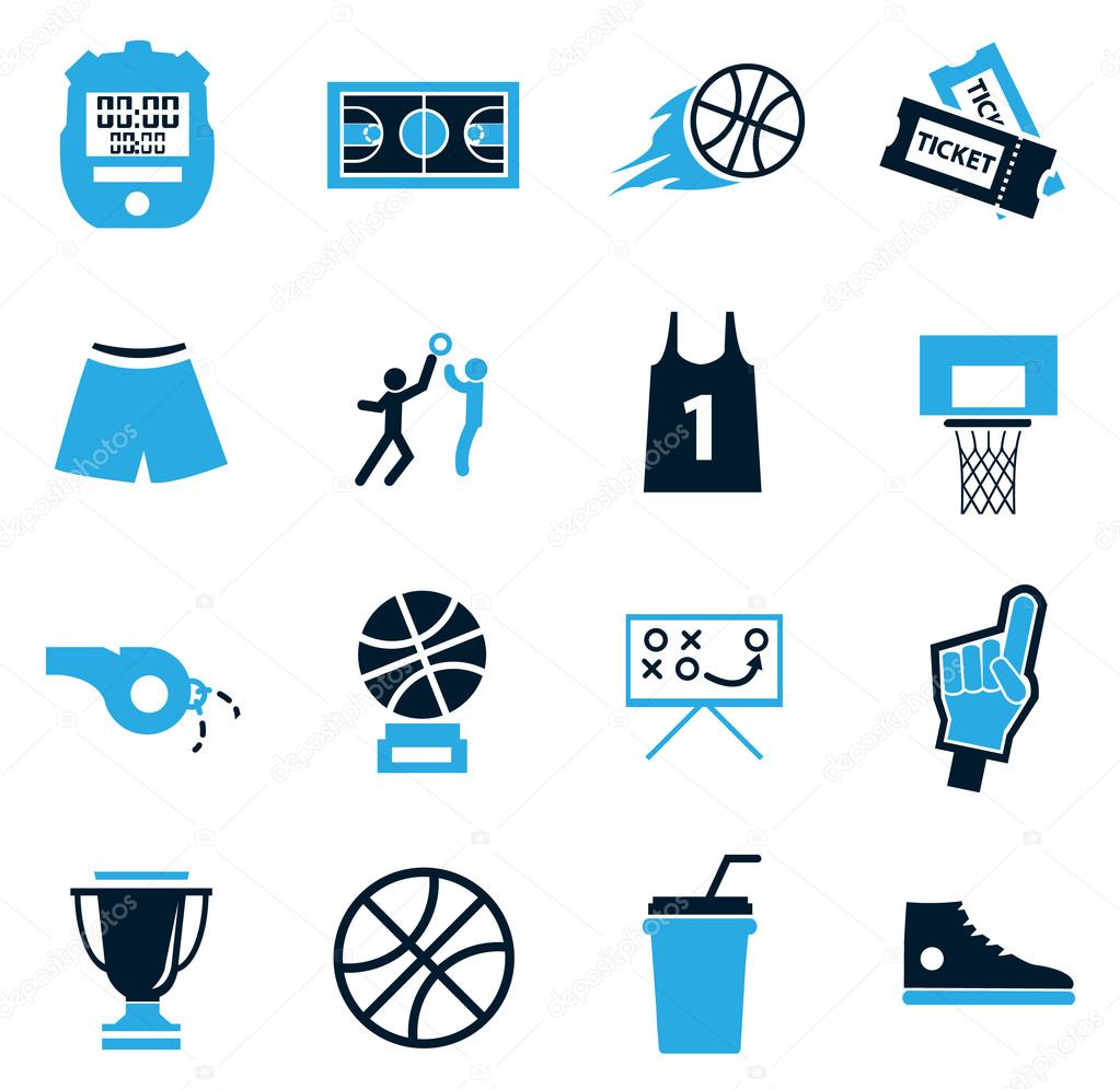 Basketball icon set stock vector lisess 93401766 basketball symbol for web icons vector by lisess biocorpaavc Choice Image