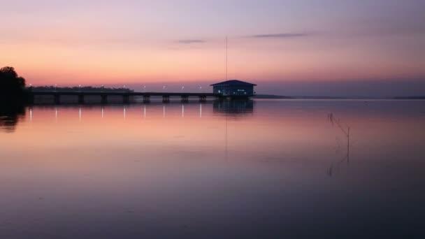 Reservoir Dokkrai view sunset Water reflection