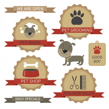 Pet Grooming Labels