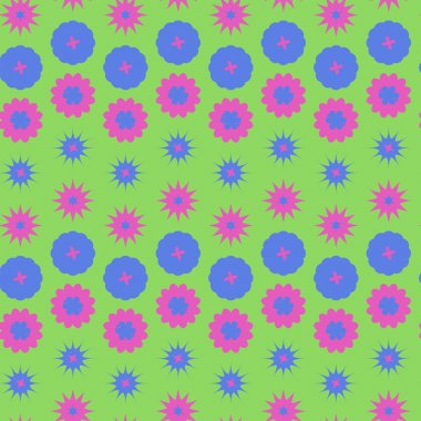 Round ornament seamless texture. Circle and floral ornament  seamless pattern.