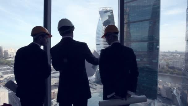 Architekti se projektu výstavby