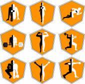Sport, run, weightlifting,  boxing,