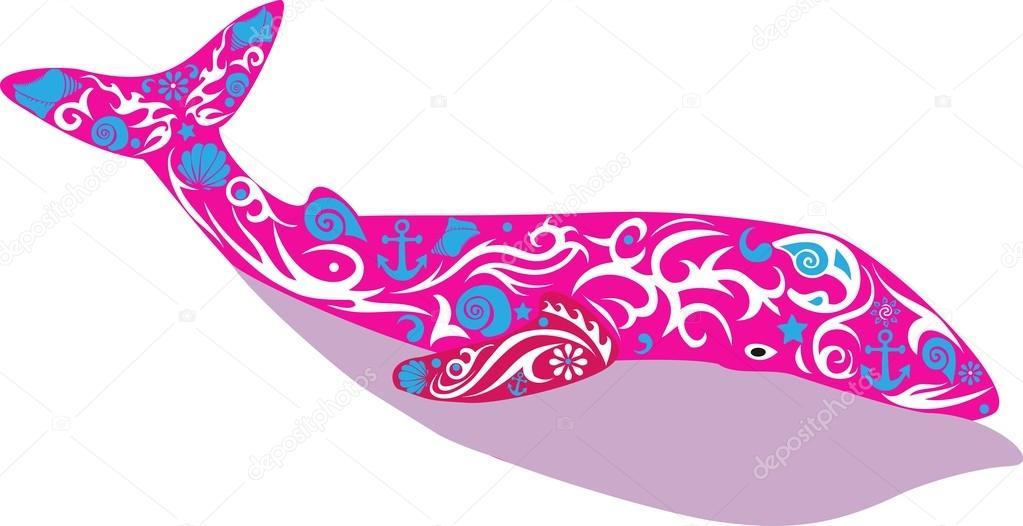 baleine cachalot poisson image vectorielle sss07 99673528. Black Bedroom Furniture Sets. Home Design Ideas