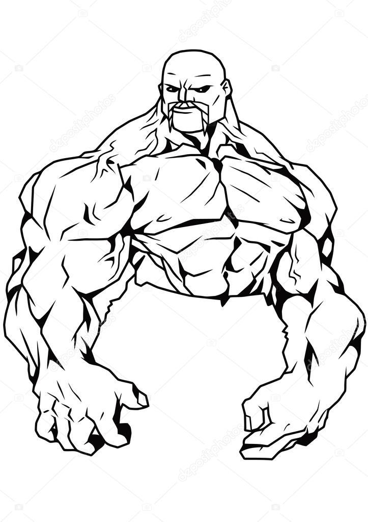torso musculoso — Fotos de Stock © orrlov #73011775