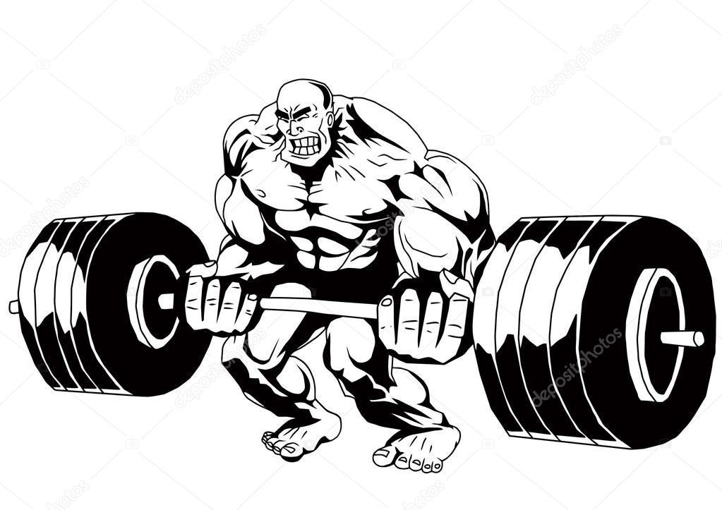 Funny Bodybuilder Workout