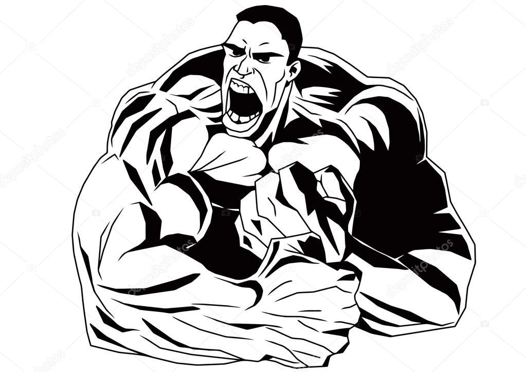 Bodybuilder muskulösen Oberkörper — Stockfoto © orrlov #75028103