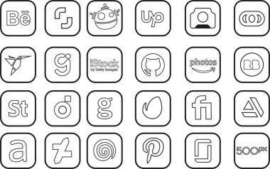 Icon pack for art and job seekers icon