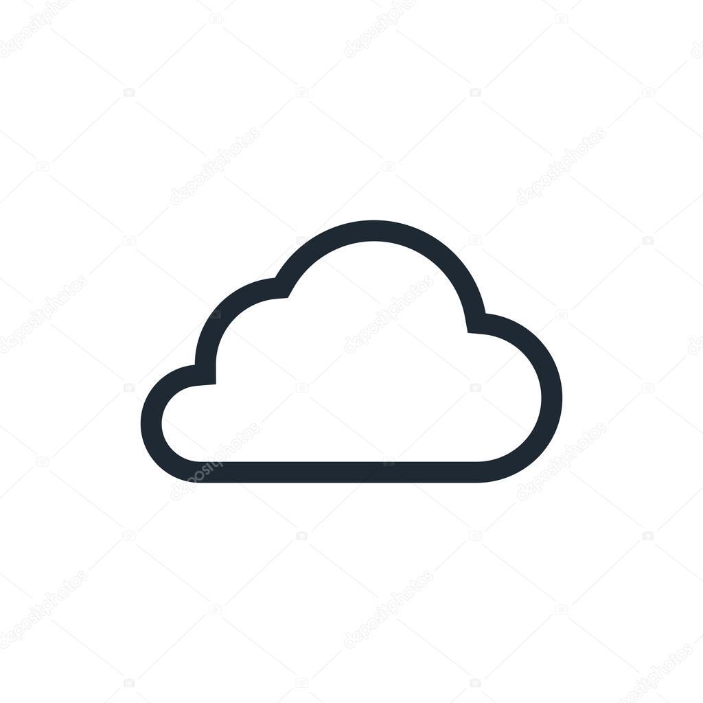 Cloud outline stock vector luka007 72231223 cloud outline stock vector voltagebd Choice Image