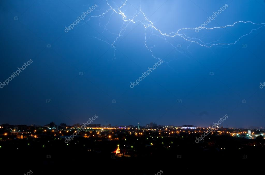 Big city lightning
