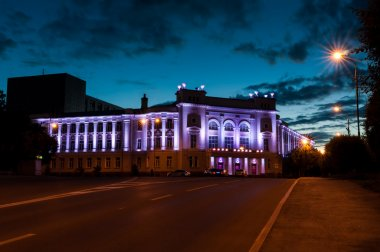 Night city Tyumen