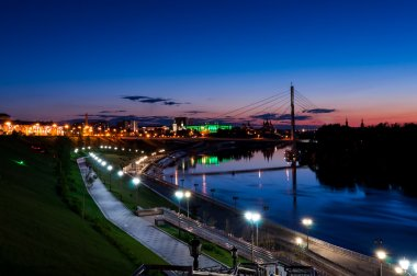 Night city Tyumen
