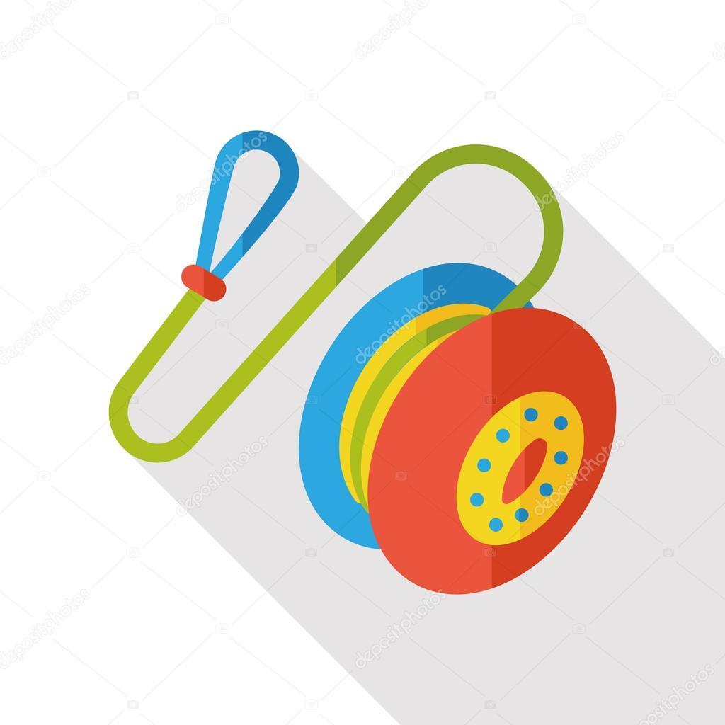 Toy yoyo flat icon stock vector yitewang 93469158 toy yoyo flat icon stock vector buycottarizona Images