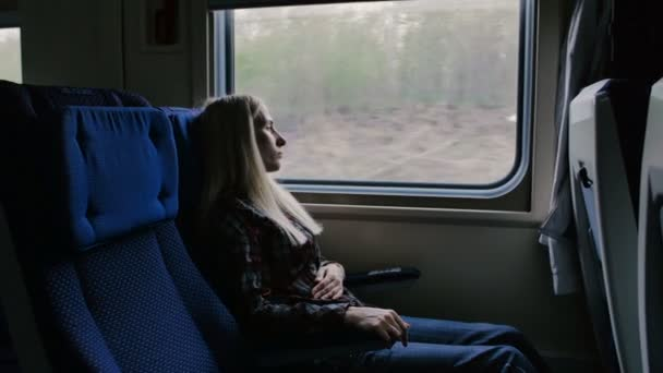 Woman in moving train feels pain in stomach
