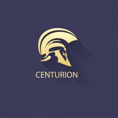 Centurion warrior helmet logo