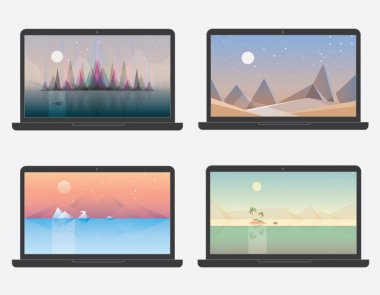 Desktop wallpaper landscape designs