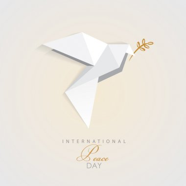 Peace day dove