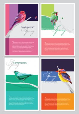 Spring brochure covers collection
