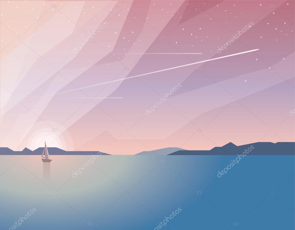 summer time ocean