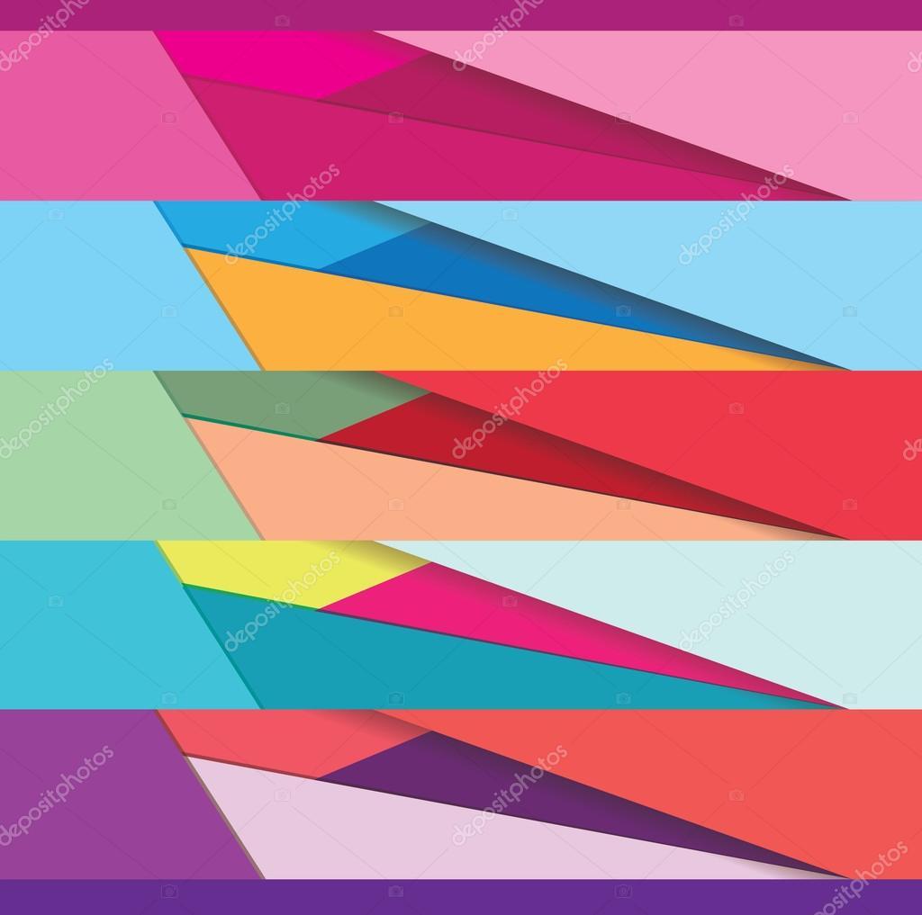 material design website banners