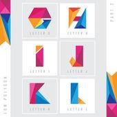 Fotografie mnohoúhelníkových abeceda písmena