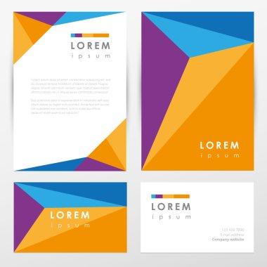 Multicolored corporate identity