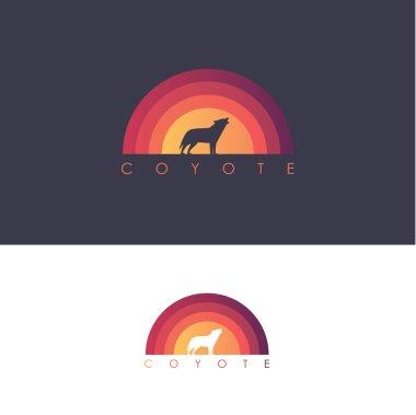 Coyote logo design mark