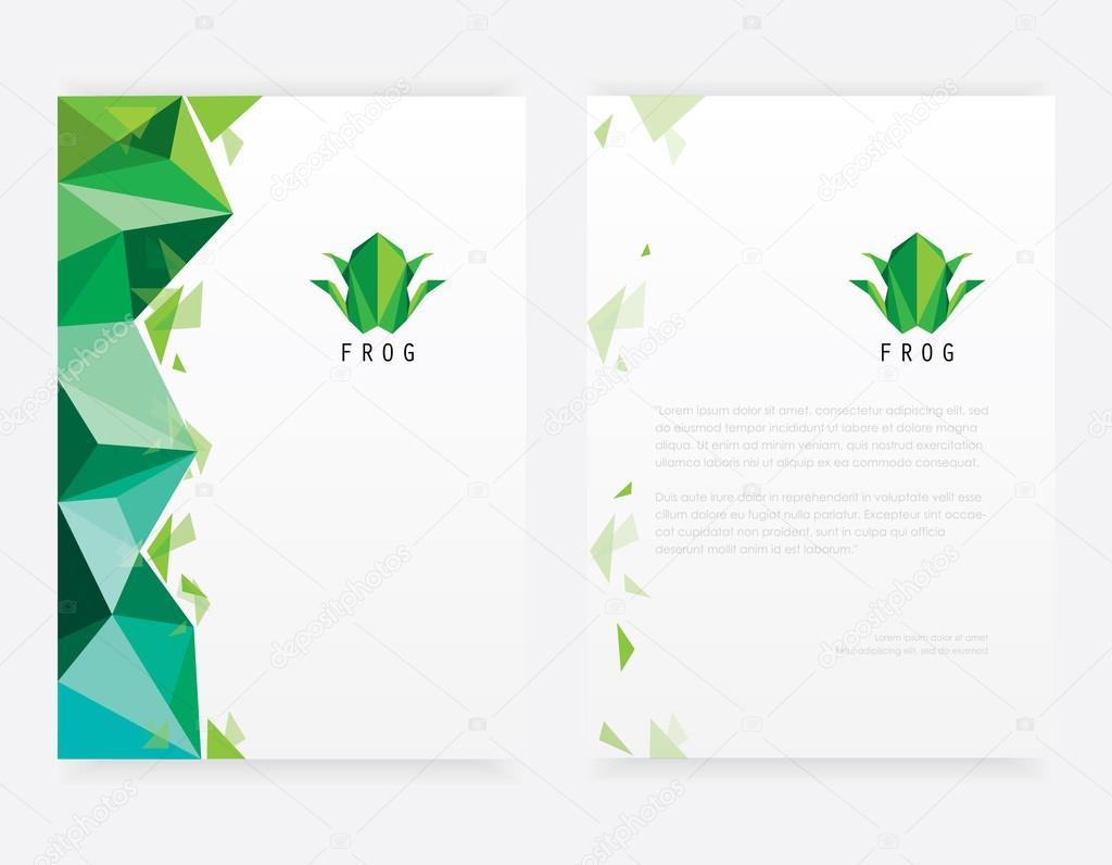 Frosch-Logo-Design-Elemente — Stockvektor © DianaHlevnjak #91578540