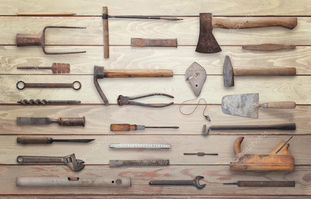 fotos herramientas de madera antiguas herramientas de