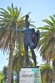 Photo Achilles statue in the park Achilleion Corfu