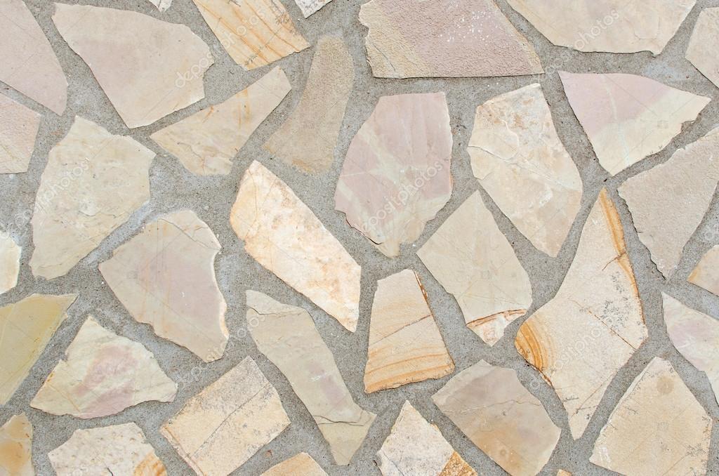 textura del suelo de piedra con las juntas de mortero u foto de stock