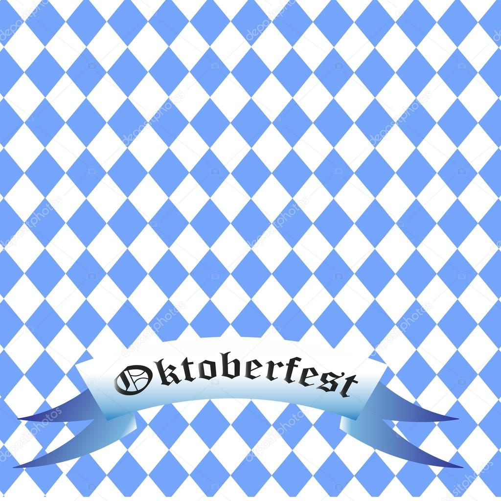 wiesn oktoberfest bier festival hintergrund weiss blau r stockvektor dima4to. Black Bedroom Furniture Sets. Home Design Ideas