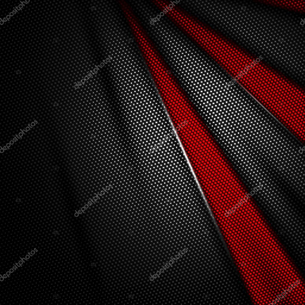 red and black carbon fiber background. — Stock Photo © koo ...