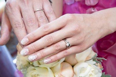 Wedding image of eternal love