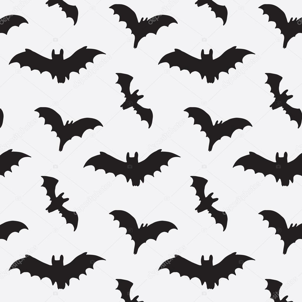 halloween bat pattern u2014 stock vector goosefrol 87120982