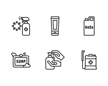 Battery icon set. outline pack of 16 charge vector icons for web isolated on white background icon