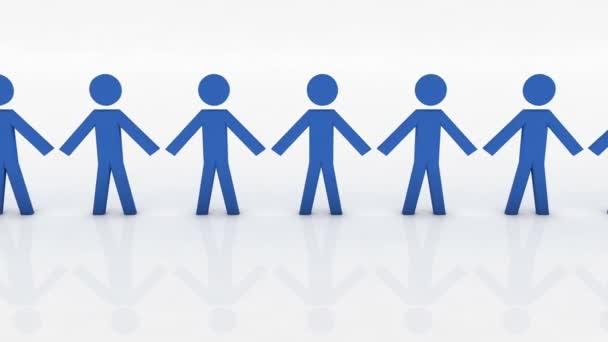 Volba práva osoby, koncepční obchodní ilustrace