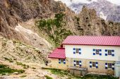 Fotografie italské Dolomity krajina