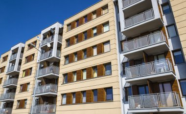 New modern apartments.