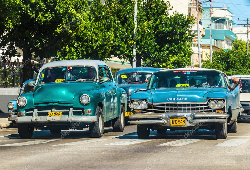 Old classic American cars – Stock Editorial Photo © ankamonika #72833723