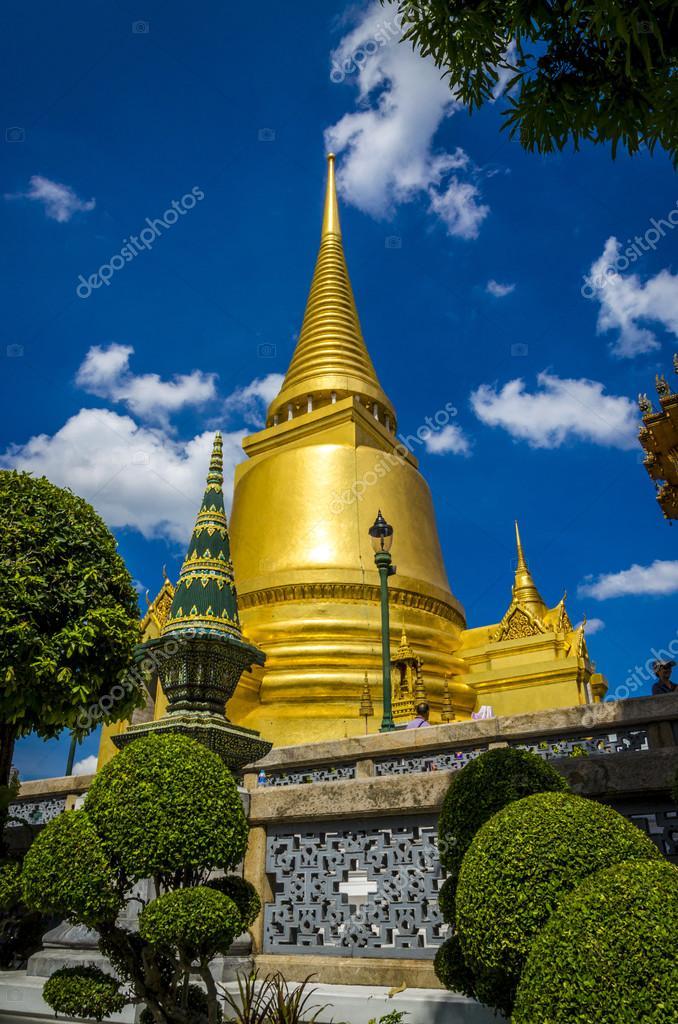 Great Palace temple in Bangkok, Thailand