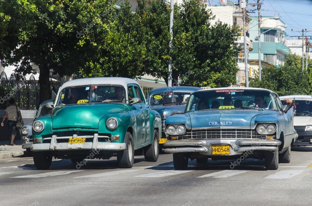 Old classic American cars – Stock Editorial Photo © ankamonika ...