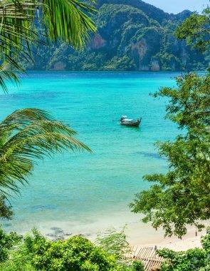 Exotic paradise bay Phuket, Thailand