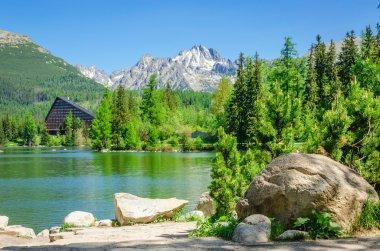 Mountain lake Strbske Pleso