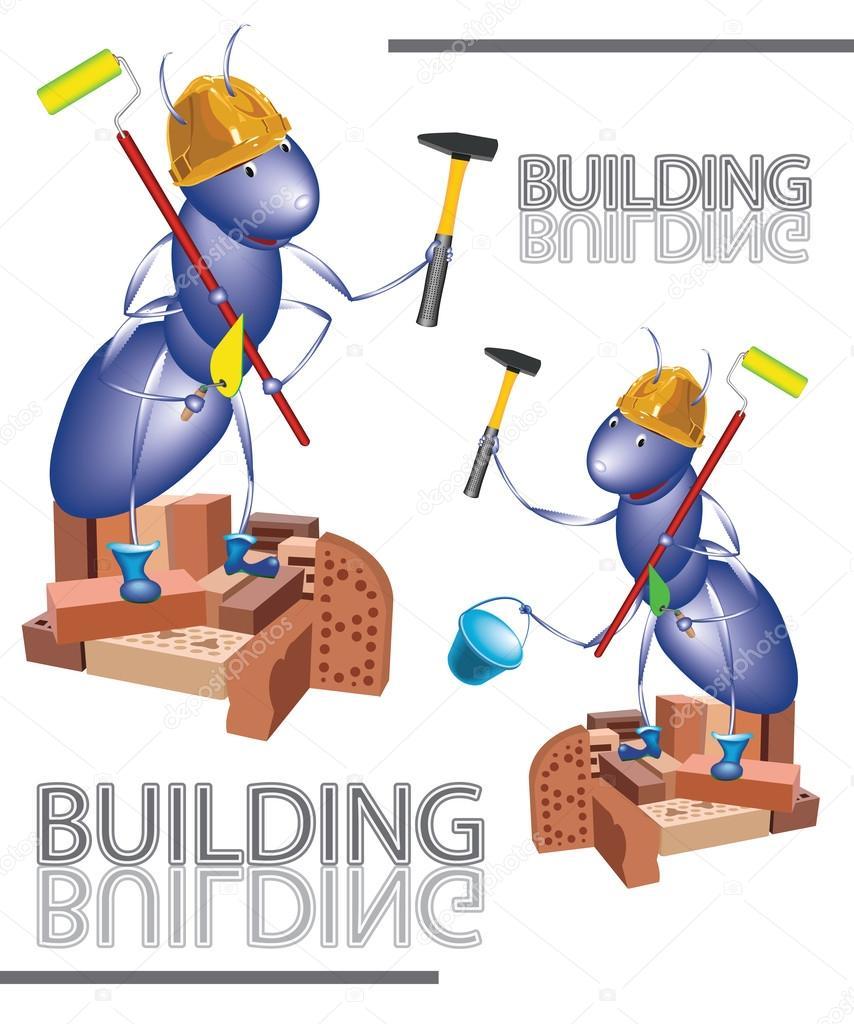 Муравей строитель картинка