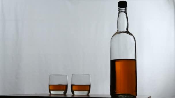 Pohár üveg whiskey