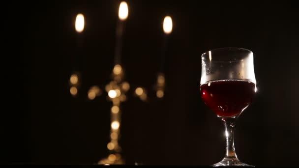 Romantický večer s vínem